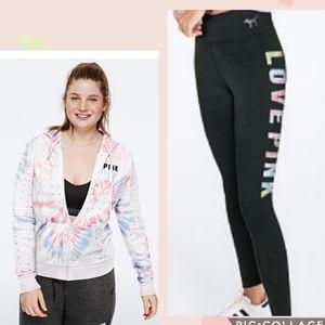 VS Pink 🔥NEW RELEASE 🔥bling hoodie & leggngs set